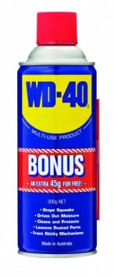 WD-40 255/300g Bonus (45g Free) W/house Exclusive